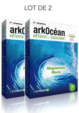 ArkOcéan Magnésium marin + vitamine B6 - 2X30 gélules