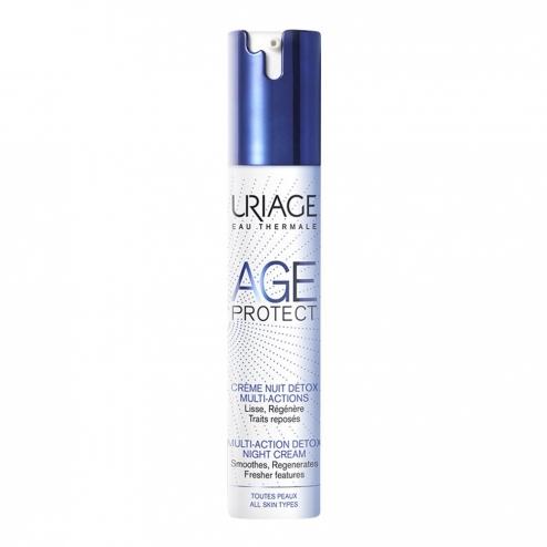 Age protect Uriage creme nuit detox visage