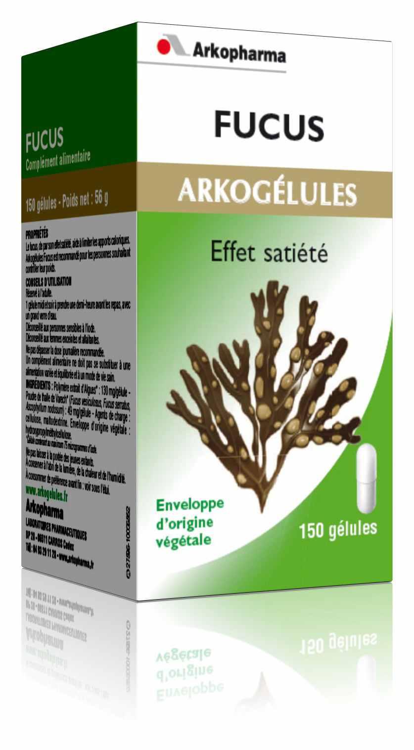 Arkog lules fucus minceur et di t tique arkopharma pharmacie - Medicament coupe faim en pharmacie ...