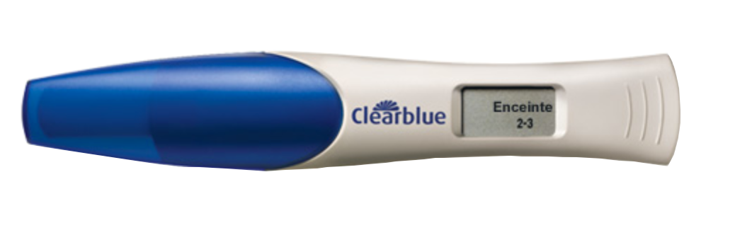 Clearblue digital test de grossesse avec estimation de l - Prix test de grossesse clearblue digital ...