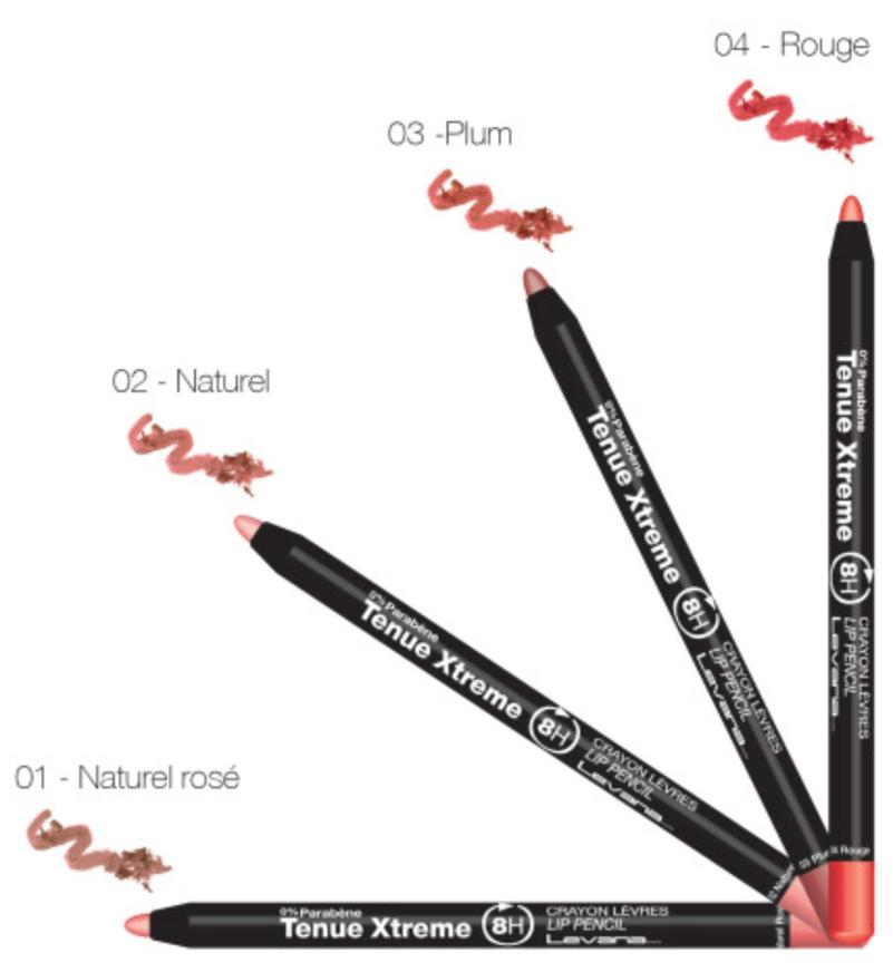 crayon levana pour l vres tenue xtreme 8h pharmacie fran aise en ligne. Black Bedroom Furniture Sets. Home Design Ideas