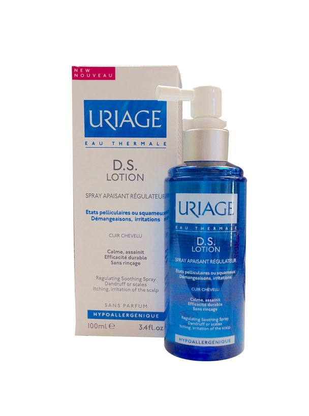 uriage lotion ds spray apaisant r gulateur pharmacie fran aise en ligne. Black Bedroom Furniture Sets. Home Design Ideas