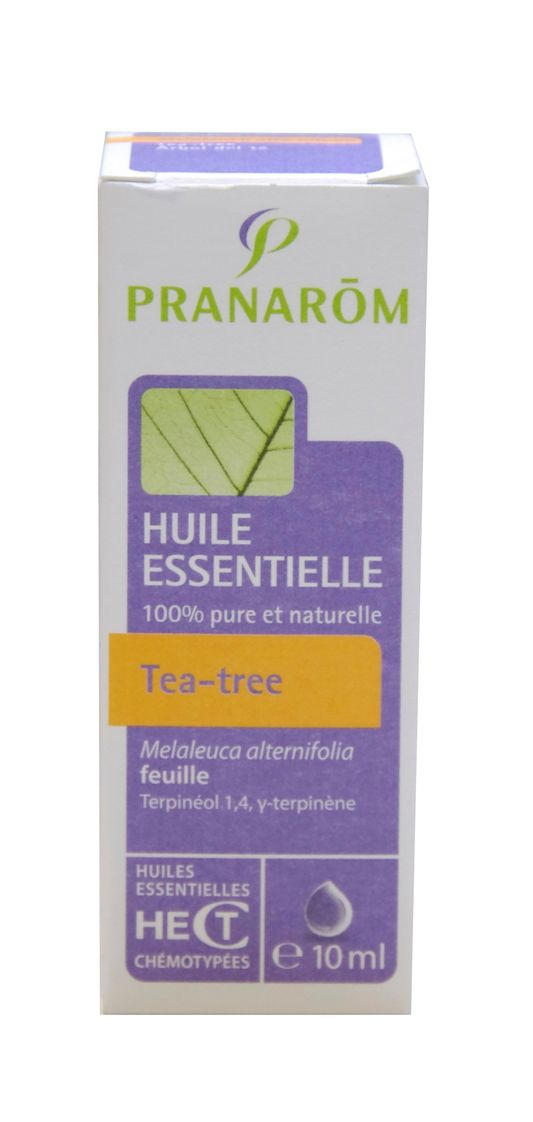 pranarom huile essentielle de tea tree 10ml 5420008503917. Black Bedroom Furniture Sets. Home Design Ideas